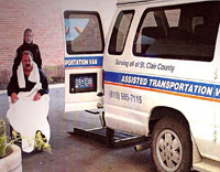 Assisted Transportation Van Door-to-door Service